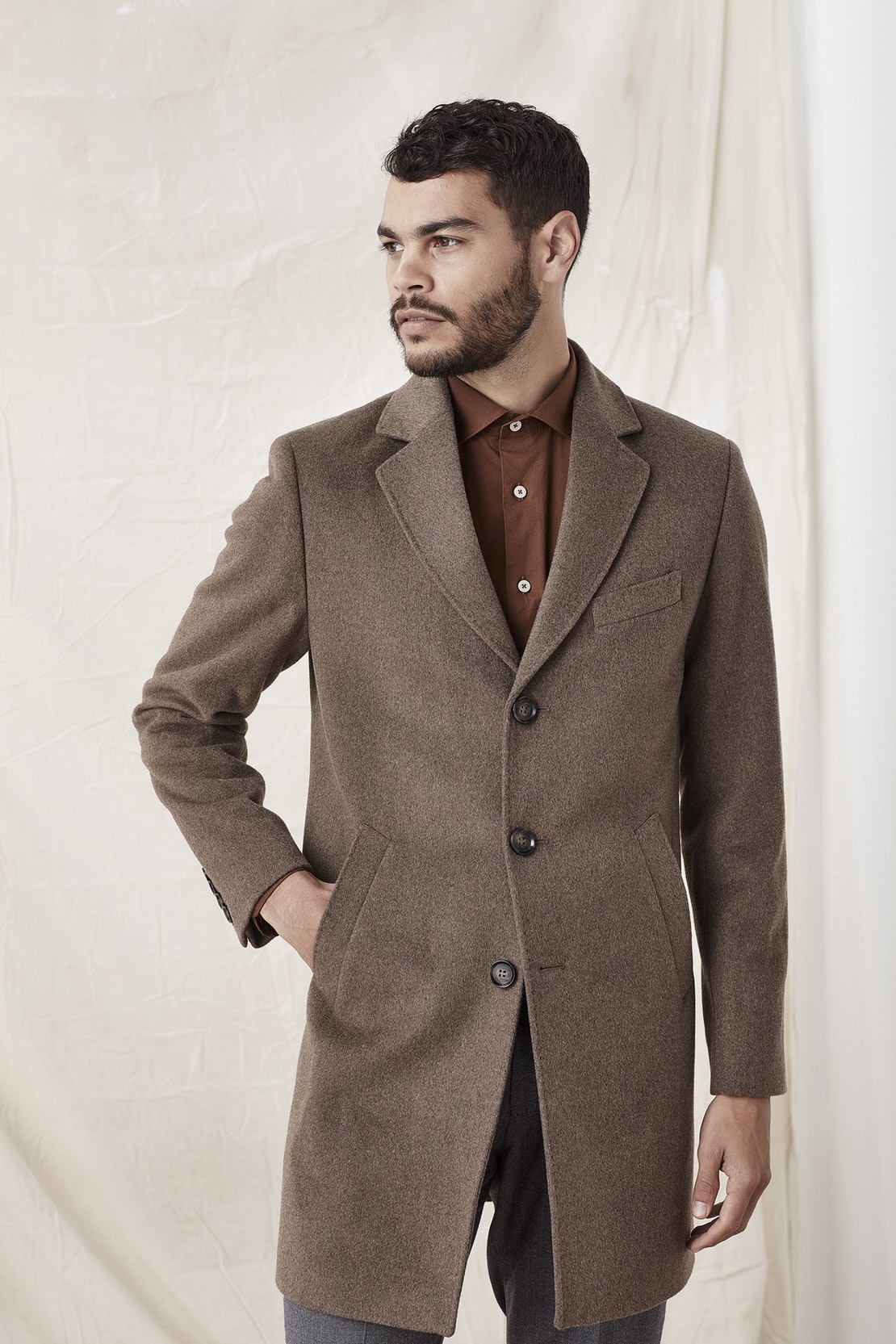classic sand overcoat workingstyle