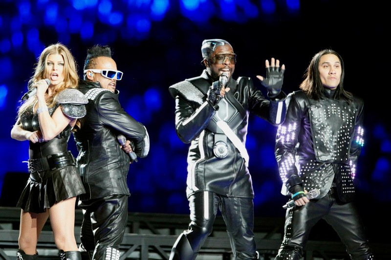 2011 Super Bowl XLV Black Eyed Peas op1e 18637