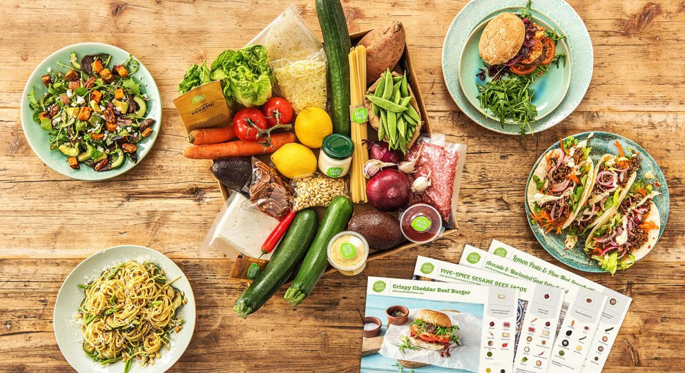 Meal Kit Delivery Service Hellofresh Box Pics