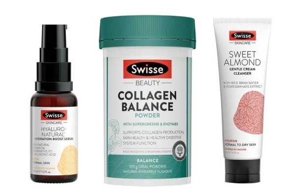 Swisse Day to Night Skincare Routine