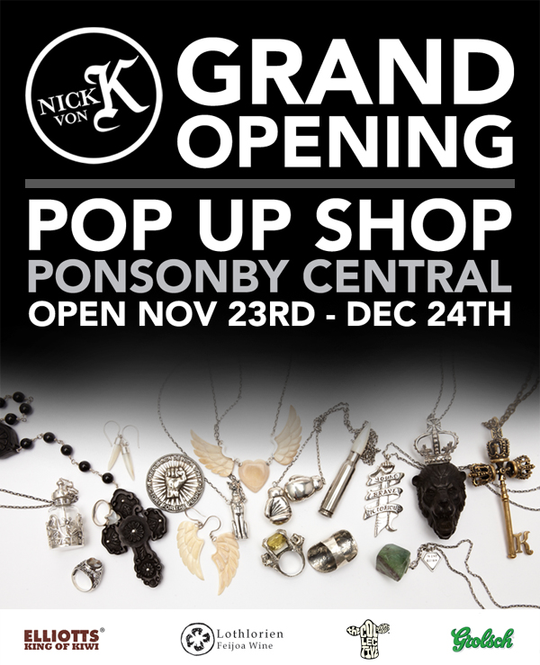Nick Von K Pop Up Shop Ponsonby Central