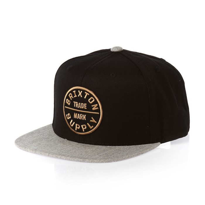 brixton-caps-brixton-oath-iii-snap-cap-black-light-heather-grey