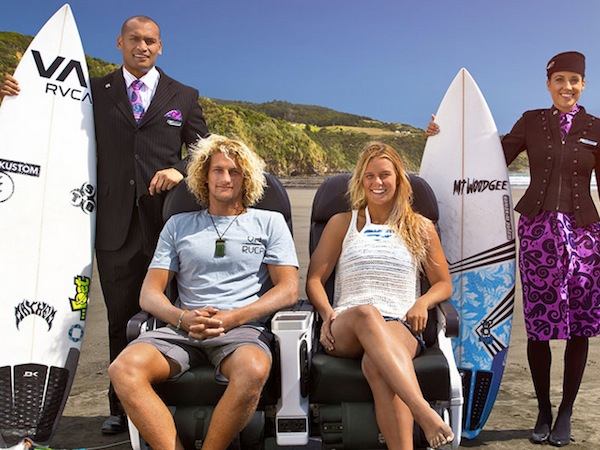 Surfing Safari: Air New Zealand's Newest Online Safety Video & a