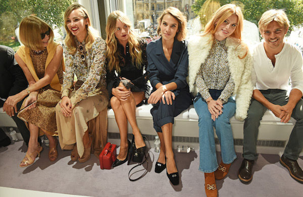 Topshop Unique - Front Row - LFW SS16