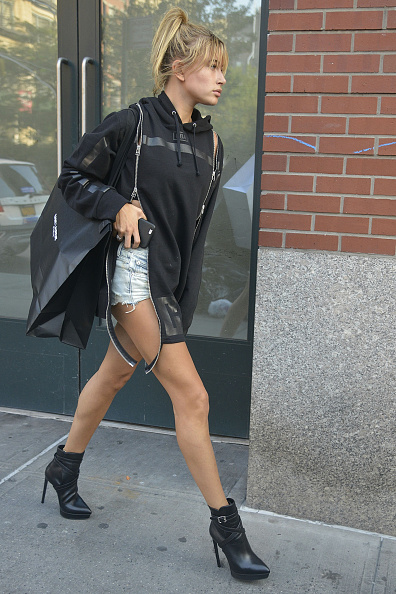 ©BAUER-GRIFFIN.COM Hailey Baldwin seen out and about NON-EXCLUSIVE   Sep 1, 2015 New York, NY