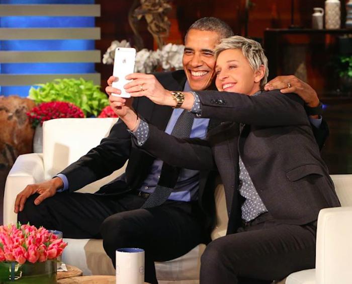Ellen - Barack Obama, talk show