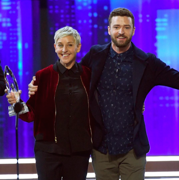 Ellen - Justin Timerlake - People's Choice