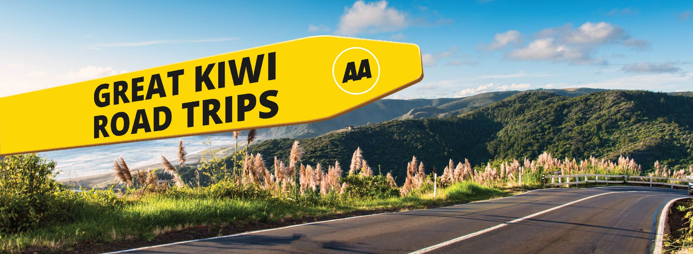 AA Great Kiwi Road Trips Banner v2