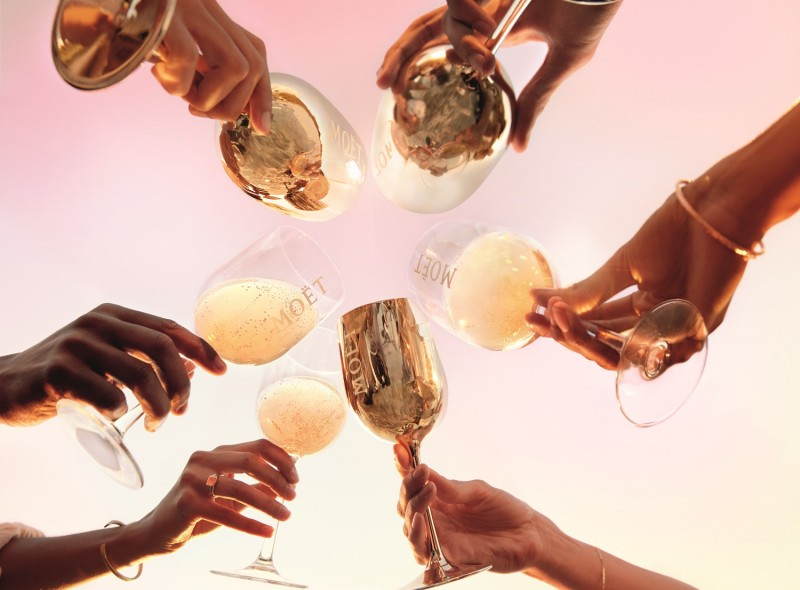 Moet Chandon Grand Day Toast