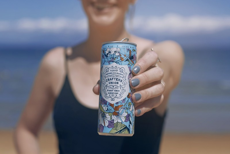 Crafters Union Wine In A Can And Where To Enjoy It Remix